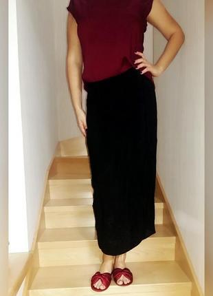 Прямая юбка из вискозы gеrry weber 50-52 размер