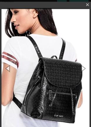 Черный рюкзак guess!