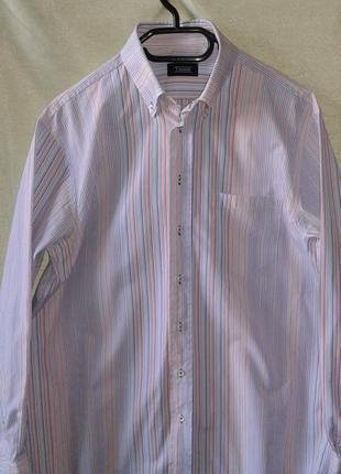 Рубашка в разноцветную полоску от einhorn