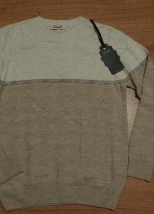 Стильный тонкий джемпер свитер пуловер / турция / xl