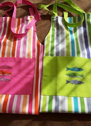 Набір фартухів французького дизайнера фреда олівіє, #фартуk, #подарок, #подарунок, #лот