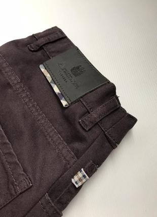 Женские бордовые джинсы aquascutum