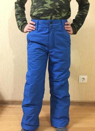 Полукомбинезон зимние лыжные штаны термо hot stuff р.146-152 унисекс
