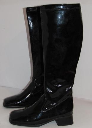 Rieker высокие сапоги чулки германия 37р ст.23,5 m33
