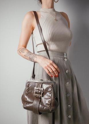 Винтажная сумочка ридикюль