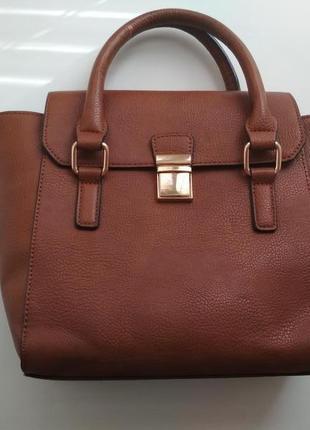 576cb32b0c56 Стильная рыжая сумка среднего размера marks & spencer Marks ...