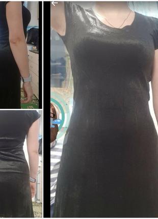 Платьеце бархатное