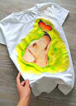 Handmade футболочка 🎨 можливе виконання вашого улюблениця на замовлення  🤗🖌️всі розміра❣️1