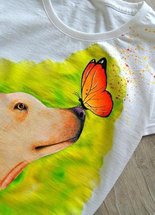 Handmade футболочка 🎨 можливе виконання вашого улюблениця на замовлення  🤗🖌️всі розміра❣️2