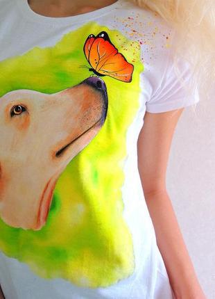 Handmade футболочка 🎨 можливе виконання вашого улюблениця на замовлення  🤗🖌️всі розміра❣️3