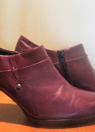 Ботильоны туфли marco tozzi р.40.натур.кожа.оригинал(легкое б/у)