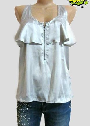 Очень классная, удлиненная, не тонкая блузка, блуза, футболка в бельевом стиле.