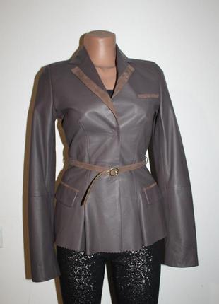 Кожаный пиджак,жакет liu jo pp xs-s