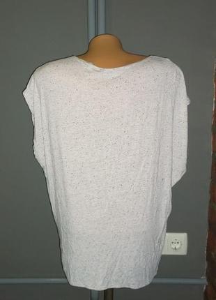 Свободная блуза топ кофточка с драпировкой из трикотажа new look2 фото