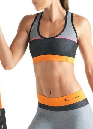 Спортивный топ бра для спорта фитнеса йоги
