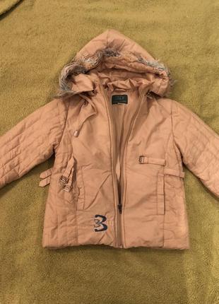 Весенняя курточка для девочки wojcik, весенне-осенняя курточка