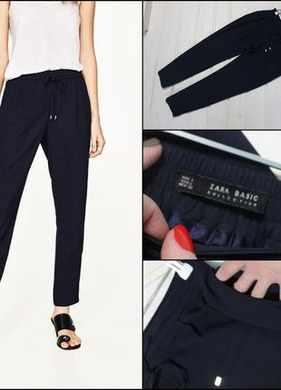 b7219ba47bf Женские брюки на резинке ZARA 2019 - купить недорого вещи в интернет ...