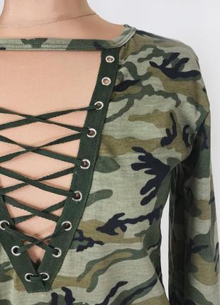 Стильний світер кофта камуфляжна женская м тренд блуза