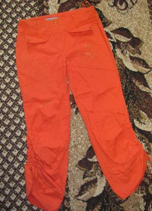 Летние котоновые штаны-капри , 42-46