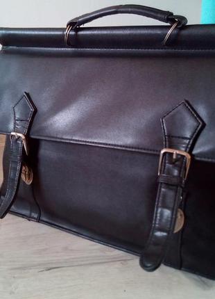 Практичная сумка для документов и не только. сумка порфель