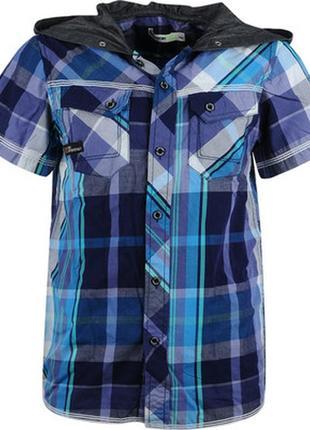 Рубашки с капюшоном для мальчиков венгрия 134-164 см