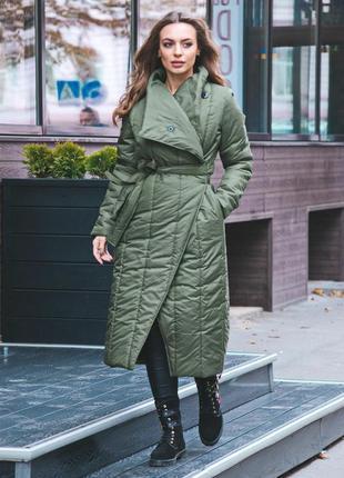 Пальто одеяло на зиму, холодную осень весну. размер s-m