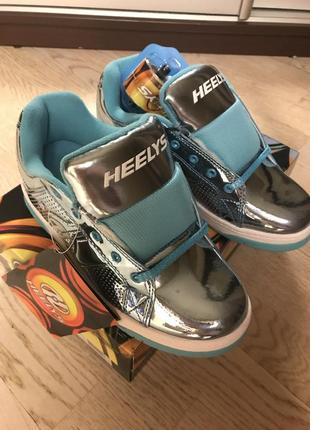 Кроссовки-ролики heelys, оригинал, новые, 34-35 размер