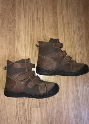 Ботинки зимние детские ортопедические sursil-ortho кожаные на овчине