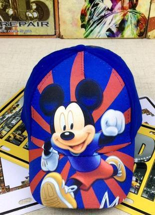 13-92 кепка mickey mouse детская бейсболка панамка