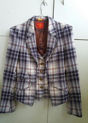 Стильнейший пиджак vivienne westwood red label