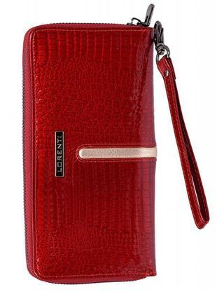 Женский кожаный кошелек lorenti 780-rs red