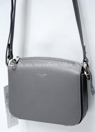 Клатч, сумка через плечо david jones 3598р серый