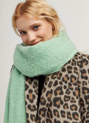 Большой шарф палантин шикарный цвет