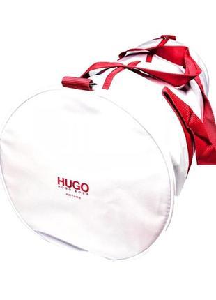 Спортивная, дорожная сумка hugo boss прорезиненная