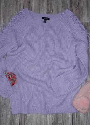 Свитшот с завязками на рукавах oversize