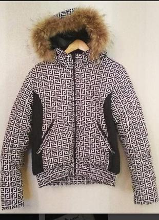 Куртка пуховик теплый дутик зимняя короткая лыжная activ