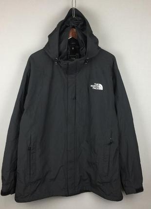 Черная мужская куртка the north face 3в1 флисовая кофта ветровка большой размер