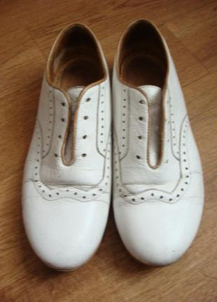 Braska туфли белые мальчику 36 размер