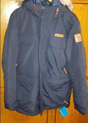 Зимняя мужская куртка-парка columbia trillium