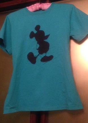 Оригинальная х/б футболка. religion for disney