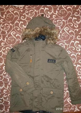 Курточка куртка парка reserved 122-134