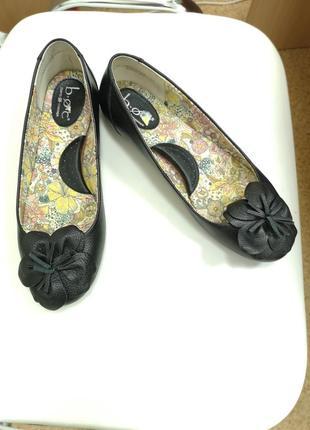 Кожаные балетки туфли 38.5-39р.
