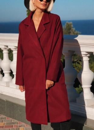 Новое женское пальто оверсайз