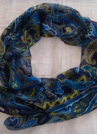 Шелковый шарф anne klein