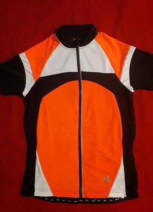 Спортивная футболка велоджерси crivit