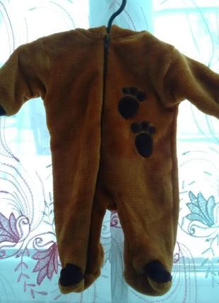Теплий чоловічок ведмедик