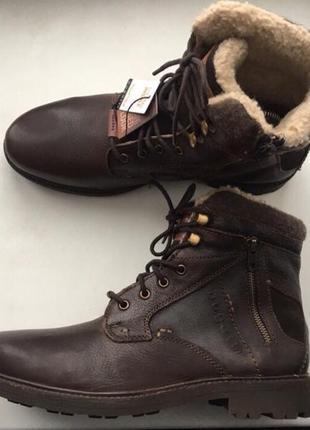 Ботинки зимние bugatti