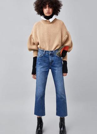 Последние пары!!! крутые джинсы authentic прямого кроя с высокой посадкой 34,36,38 размер