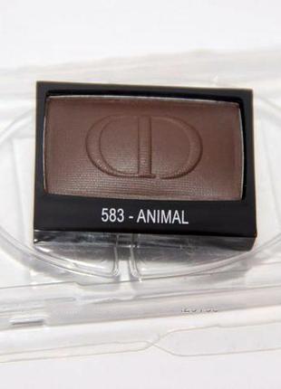 Тени для век christian dior diorshow mono eyeshadow 2016 # 583 animal