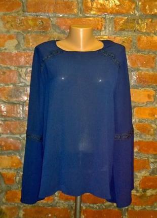 Блуза кофточка топ с объемными рукавами primark